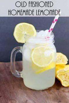 Make homemade lemonade