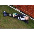 Mikolaj enjoying some football time!