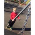 Caiden having fun at the park!