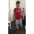 George rocking his forest kit!