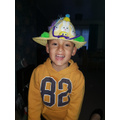 Jacob and his Easter Bonnet!