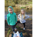 Theo and Lillie-Rose enjoying the outdoors!