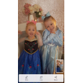 Princess Raylee and her sister!