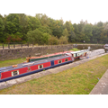 The canal was busy this morning!