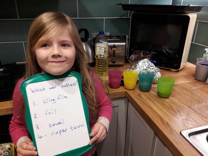 Clara's Science Investigations