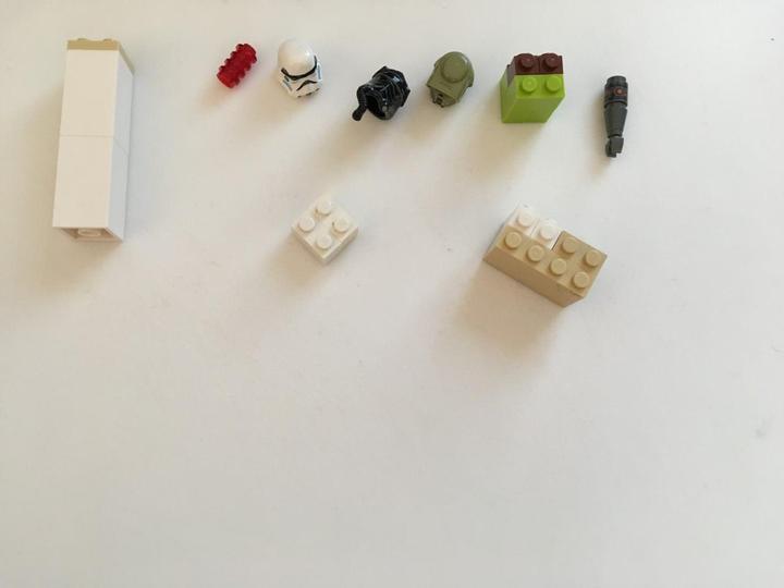 3D shapes using lego