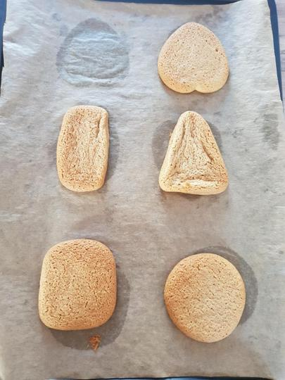 Harry's baked biscuit shapes