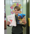 Our World Book Day Winner (As voted by the class)