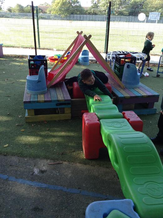 Making obstacle courses