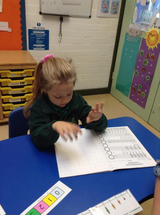 Counting and writing numbers