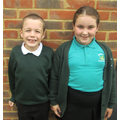 Year 4 School Councillors - Mason and Lily