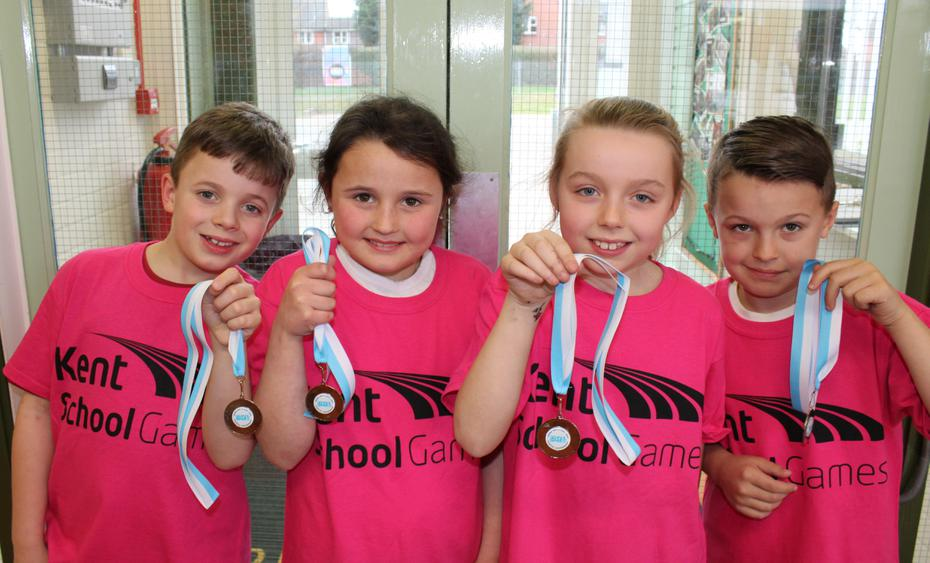 Year 3/4 Key Steps Gym runners-up