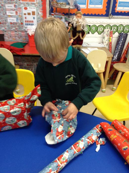 Wrapping 'presents'