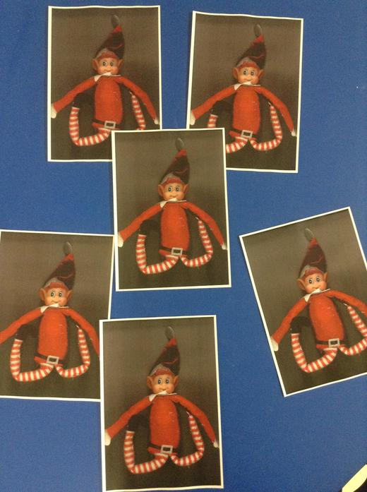 8th: Ted hid lots of photos of himself around our classroom/ playground!