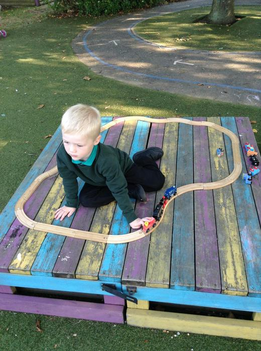 Finding different ways to construct train tracks