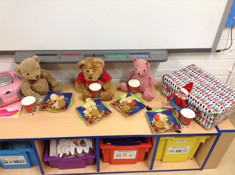7th: We came into class to find that Ted was having a Christmas party!