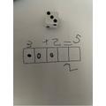Ella's maths work