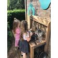 Mud kitchen cafe