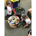 """""""we were building an animal world with lava mountains and lots of cars in a car park."""""""