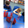 Making happy new year cards