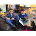 Reading together on World Book Day 2019