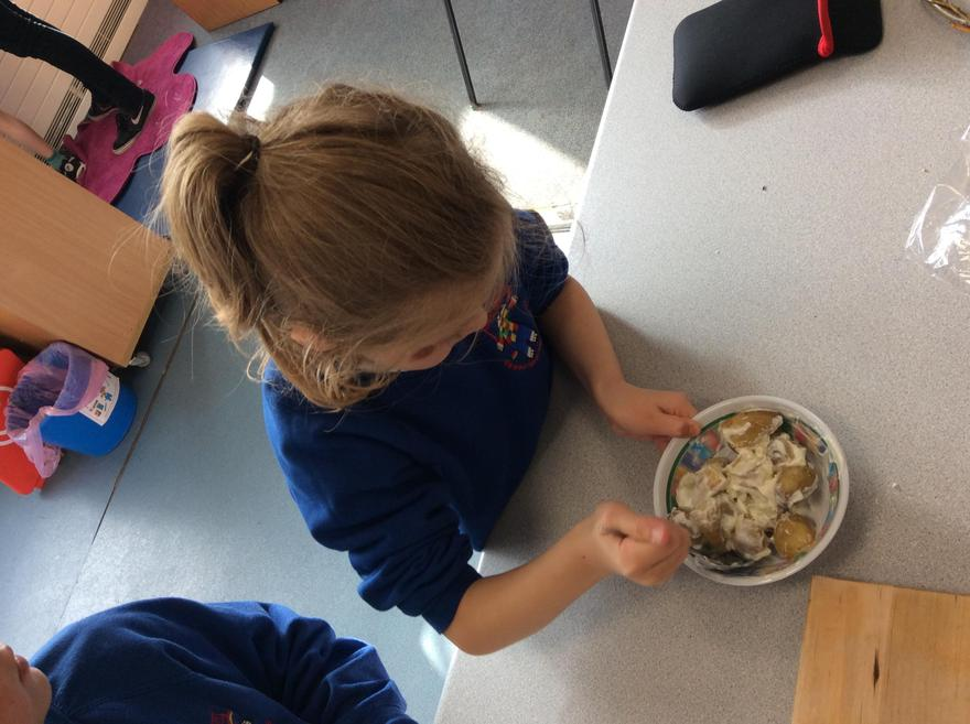 Cooking develops our fine motor skills