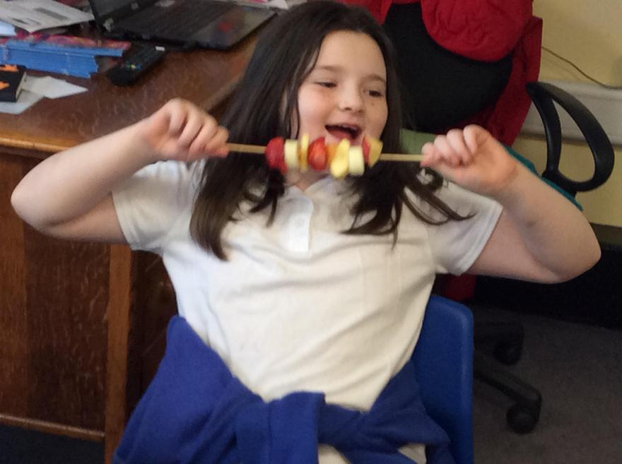 We love fruit!