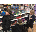 Investigating the toy section