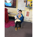 Story Sacks help us to enjoy books