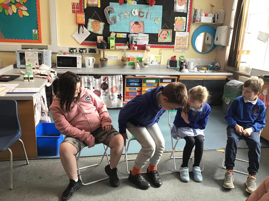 Learning new physical skills - look at us balance!