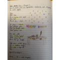 Writing our own poems in Welsh