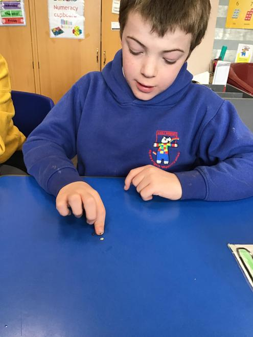 Using our fine motor skills carefully