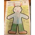 Amelia's colourful English work - great job!