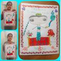 Kiran's book cover entry