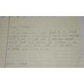 Blanca's letter from Arthur