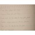 Lovely handwriting Kiran