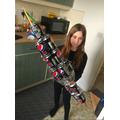 Ayla's amazing rocket