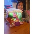 Kiran's fantastic gingerbread house