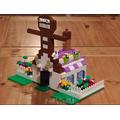 Blanca's gingerbread house design