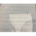Lovely handwriting Philip