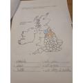 Evie's geography - fantastic effort!!