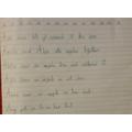 Amazing handwriting Kiran