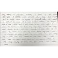 Lovely handwriting McKenzie