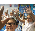 Lessons are always fun with Plaster of Paris!