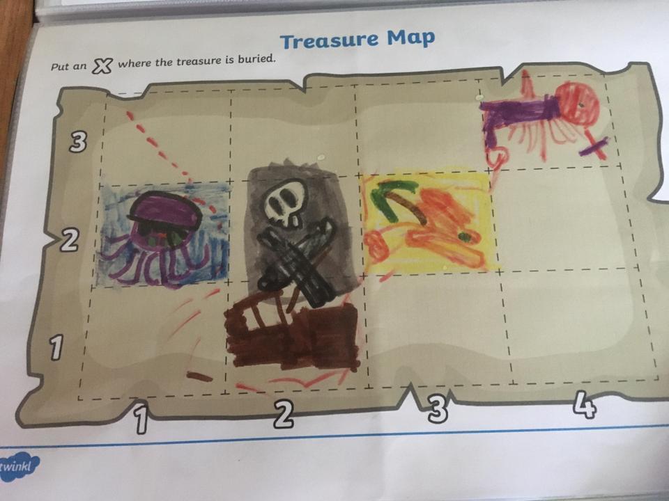 Sam's treasure map