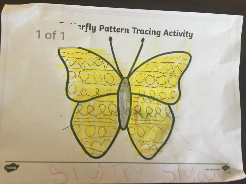 Look at the patterns!