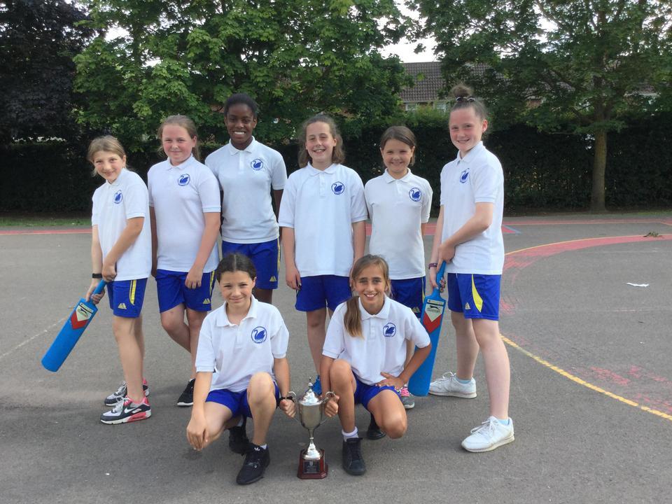 Girls Cricket Abingdon Area Winners