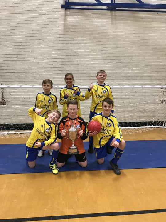 Vale of White Horse Indoor Football Champions