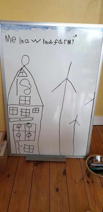 A wind farm!