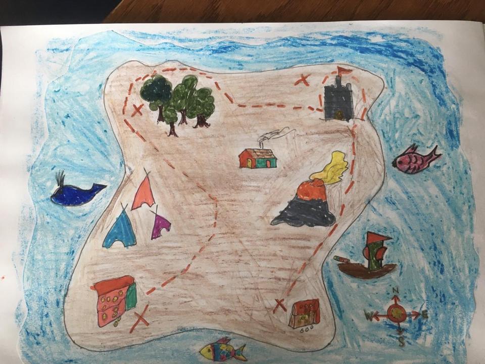 Ayushi's treasure map